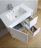 新しい絵画光沢度の高い白MDFの浴室用キャビネット(SW-1310)