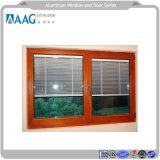 Il profilo di alluminio per la finestra ed il lato dell'oscillazione ha appeso il portello con il profilo dell'alluminio della parete divisoria o dei ciechi