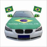 Bandierina dello specchio di automobile del Brasile