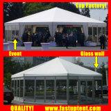 メッカのメッカ巡礼の直径12mのための常置明確なマルチ側面のテント150人のSeaterのゲスト