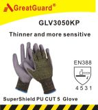 Acabado de acabado Thinner de Greatguard Supershield PU Cut 5 Glove (ST3050KP)