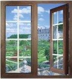 Spätester Gitter-Entwurfs-örtlich festgelegtes Flügelfenster-Aluminiumfenster des Fenster-2017 (pH-8859)