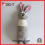 Cork Squeaky Soft durable de peluche mascota de peluche de dentición juguetes para perros