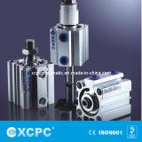 조밀한 Cylinder (ADVU 시리즈, ISO 6431 Standard)