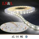 IP33 indicatore luminoso di striscia flessibile della decorazione LED con Ce&RoHS