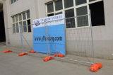 Frontière de sécurité de fer travaillé/stationnement vert de fer clôturant pour la frontière de sécurité décorative en gros de maillon de chaîne de fer travaillé de l'Allemagne/de Chine