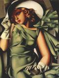 Lempicka Peinture d'huile - 06