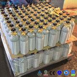Cga 320弁が付いているアルミニウムシリンダータンク5つのLbsの二酸化炭素