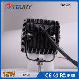 CREE 12W für des Fahrzeug-Auto-4WD Arbeits-Licht-Lampe LKW-nicht für den Straßenverkehr des Automobil-LED
