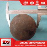 bola de acero de pulido forjada de alto impacto Wear-Resistant de 20mm-90m m B2 75mncr para la explotación minera