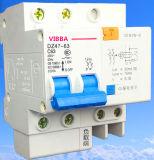 Dz47le-63、C45n ELCB、MCB、RCCBの回路ブレーカ、スイッチ、粉砕機、接触器、リレー