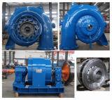Вода на входе турбины турбокомпрессора/ турбины гидроуправления /// Hydroturbine Waterturbine электростанции