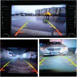 Puede girar 360 grados de tamaño mini coche delantero/trasero lateral /cámara CMOS y CCD con amplio ángulo de visión