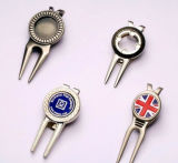 Metallo Golf Divot Tool con Markers (GS-394)