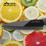 """4.5 """" Mirror Noir Couteau céramique couteau à légumes fruits"""