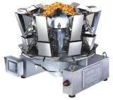 Weigher multiterminal 10 Jefes de snacks con un peso de Máquina de embalaje (MHW-10)
