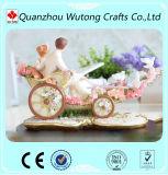 Decorazione della resina di disegno dell'automobile del fiore degli amanti dei mestieri di cerimonia nuziale della resina