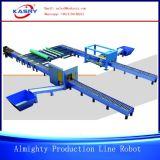 Всесильная производственная линия автомат для резки CNC робототехнический для обрабатывать стальные трубы и профили