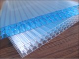 Feuille de cavité de PC de panneau de polycarbonate de feuille de polycarbonate de Corlored de feuille de polycarbonate de nid d'abeilles