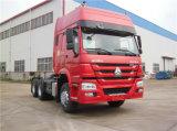 420HP 6X4 Primaire krachtbron 40ton Tractor Head Op zwaar werk berekende Tractor Truck voor Sale