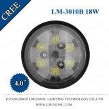 EMC 18W 4inch LED 농업 가벼운 트랙터 램프 크리 말 6PCS*3W