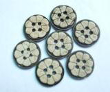 Bouton de noix de coco naturelles (002)