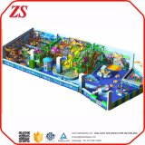 Campo de jogos interno crianças plásticas quentes do tamanho da venda das grandes