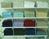 Банными полотенцами.