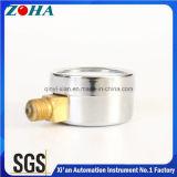 警告の圧力計の内部鋼鉄箱の黄銅のための4つのカラーダイヤル