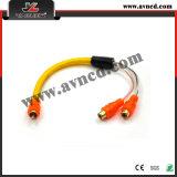 Kabel verbindt onderling de Van uitstekende kwaliteit van het Signaal RCA van de fabriek (r-322)