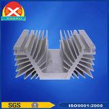 Disipador de calor de aluminio de Electro-Depósito de la fuente de Al6063