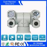 4 Multi huisvesten - vul de Camera van de Veiligheid van het Lichte Voertuig PTZ