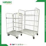 Supermercado 3 caras contenedor Roll Cage