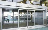 заводская цена продажи с возможностью горячей замены автоматических раздвижных дверей с серебристый цвет