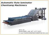 Lamineur automatique à grande vitesse de cannelure de papier cartonné