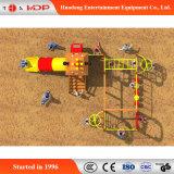 漫画のBeaitifulの屋外の運動場のおかしい上昇のスライド装置(HD-MZ049)