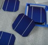 Mono célula solar da eficiência elevada 125
