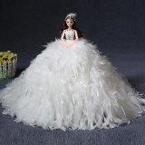 11-дюймовый пластмассовых кукол с свадебные платья, Девочка с игрушками, свадебные куклы