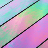 Telha linear do mosaico do vidro manchado da cor da tira da decoração