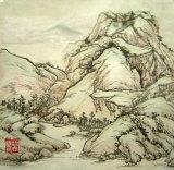 景色Painting1 (繁文の絵画)