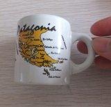 Mini-tasse de café en céramique personnalisé avec l'autocollant (d'impression WSY932M)