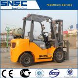 Prix neuf de chariot élévateur de LPG de propane de Snsc 2.5t de marque de la Chine