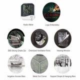 Sraight Tür-Art und runde Tür-Art-Gaschromatographie wachsen Zelt