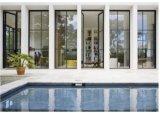 De elegante Franse Deuren van het Ijzer van het Ontwerp voor Villa