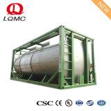 20Les pieds de ciment et de transport du réservoir de stockage de conteneurs ISO