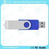 De populairste Koningsblauwen draaien de Plastic 8GB Aandrijving van de Flits met Embleem (ZYF1818)