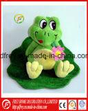 Jouet en peluche douce grenouille pour cadeau de vacances à la promotion