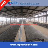 Couvre-tapis stable d'étage de /Turtle de couvre-tapis de vache/cheval avec le bas de cannelure