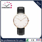 Moda reloj de cuarzo de acero inoxidable reloj reloj de cuero