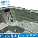 Acrílico 5 persona utilice Square gran bañera de hidromasaje masaje (M-3382)